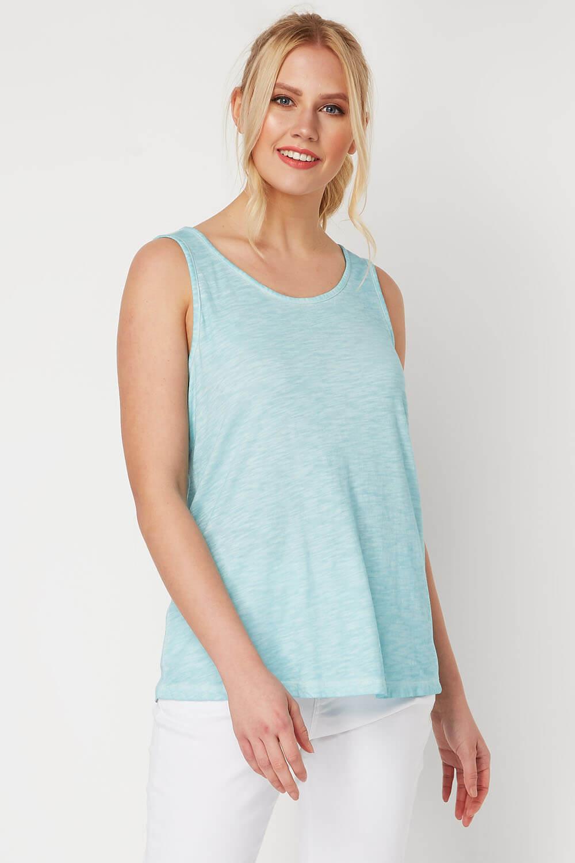 Bow Back Vest Holiday Causal Summer Sleeveless Top Ladies Women Roman Originals