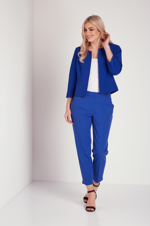Roman Originals Women/'s Blue Tailored Jacket Sizes 10-20