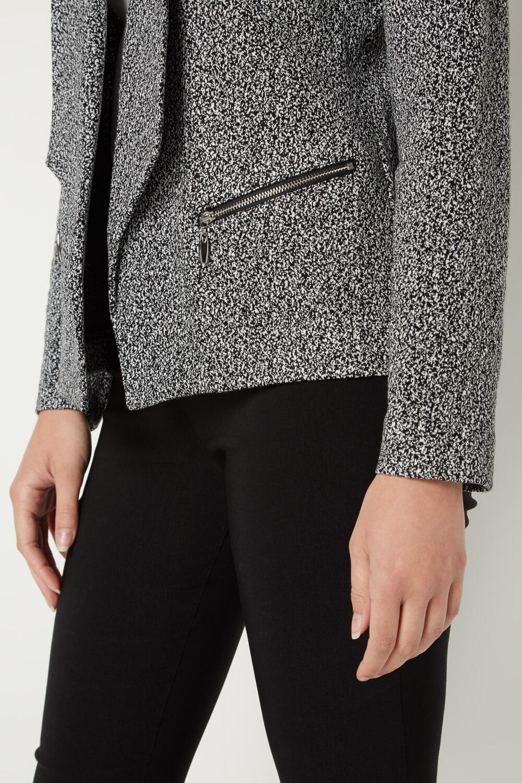Roman Originals Women/'s Monochrome Jersey Jacket Sizes 10-20