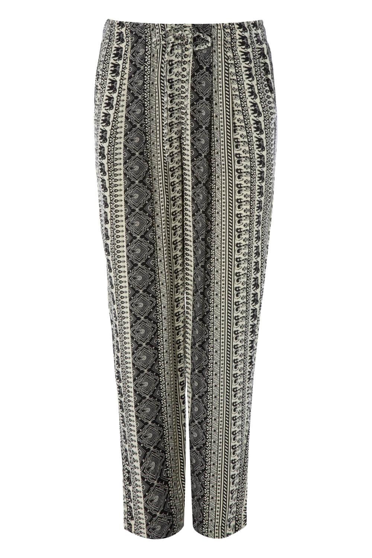 Roman Originals Women/'s Aztec Tapered Trouser