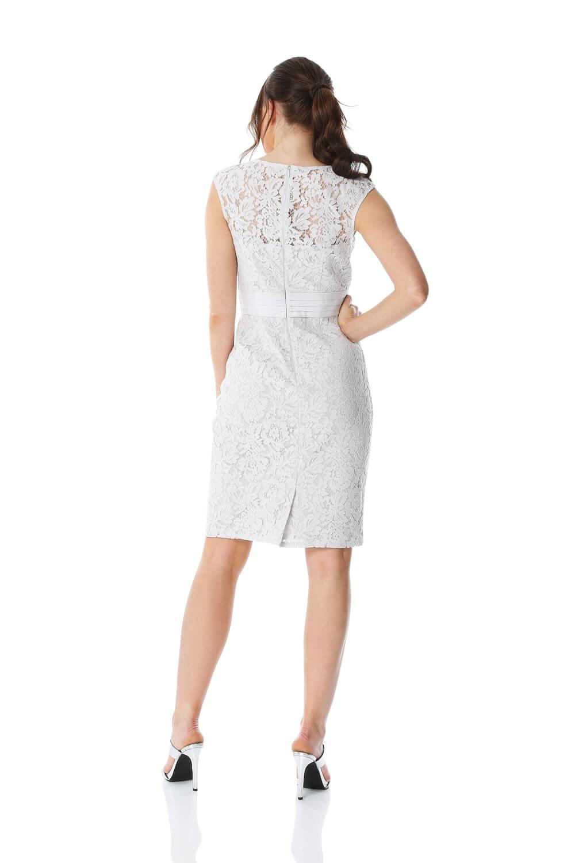 Roman Originals Women Lace Embellished Trim Dress Ladies