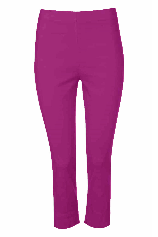 Cropped-Stretch-Capri-Bengaline-Trousers-3-4-Thick-Legging-Women-Roman-Originals 縮圖 334