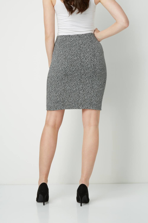 thumbnail 17 - Roman Originals Women's Textured Cotton Mix Jersey Short Skirt Formal Work Wear