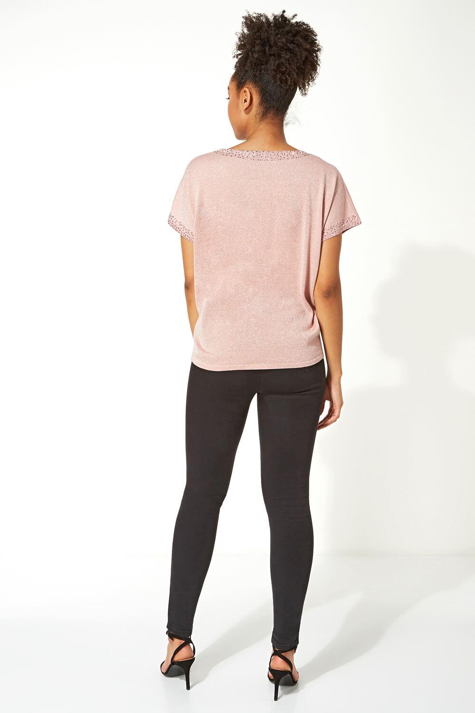 Roman-Originals-Women-039-s-Embellished-Batwing-T-shirt thumbnail 21