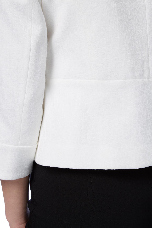 Roman-Originals-Women-039-s-White-Tailored-Jacquard-Jacket-Sizes-10-20 thumbnail 12