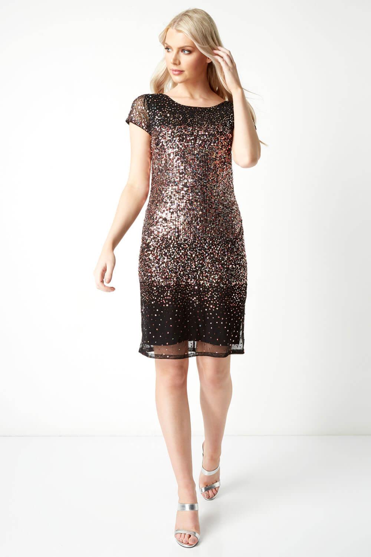 Roman-Originals-Women-Ombre-Sequin-Dress-in-size-10-20 thumbnail 21