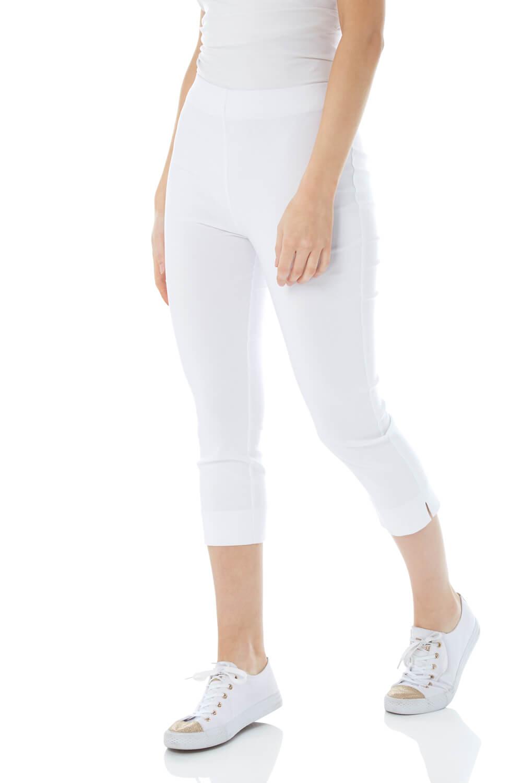 Cropped-Stretch-Capri-Bengaline-Trousers-3-4-Thick-Legging-Women-Roman-Originals 縮圖 52