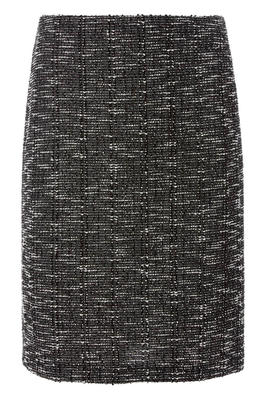 thumbnail 51 - Roman Originals Women's Textured Cotton Mix Jersey Short Skirt Formal Work Wear