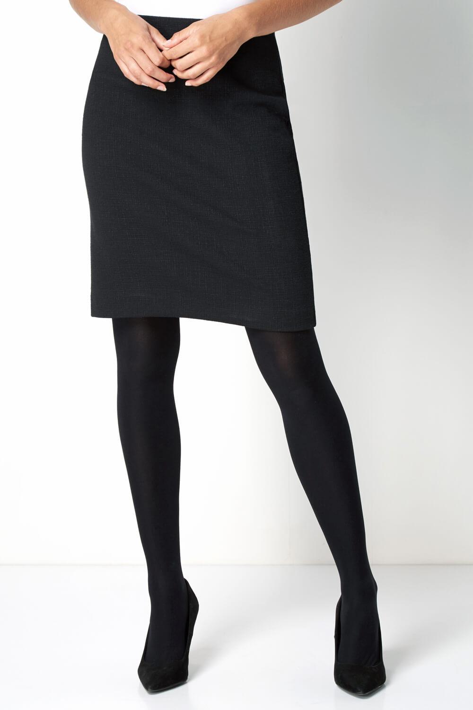 thumbnail 21 - Roman Originals Women's Textured Cotton Mix Jersey Short Skirt Formal Work Wear