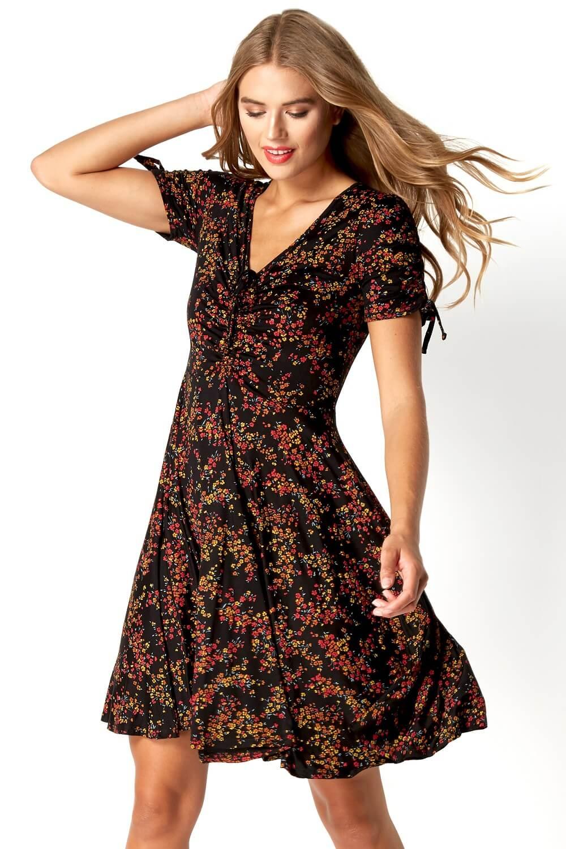 Roman-Originals-Women-039-s-Ditsy-Floral-Dress-Sizes-10-20 thumbnail 12