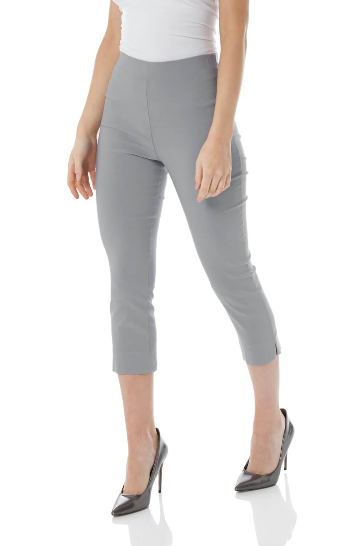 Cropped-Stretch-Capri-Bengaline-Trousers-3-4-Thick-Legging-Women-Roman-Originals 縮圖 11