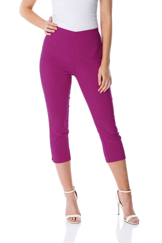 Cropped-Stretch-Capri-Bengaline-Trousers-3-4-Thick-Legging-Women-Roman-Originals 縮圖 329