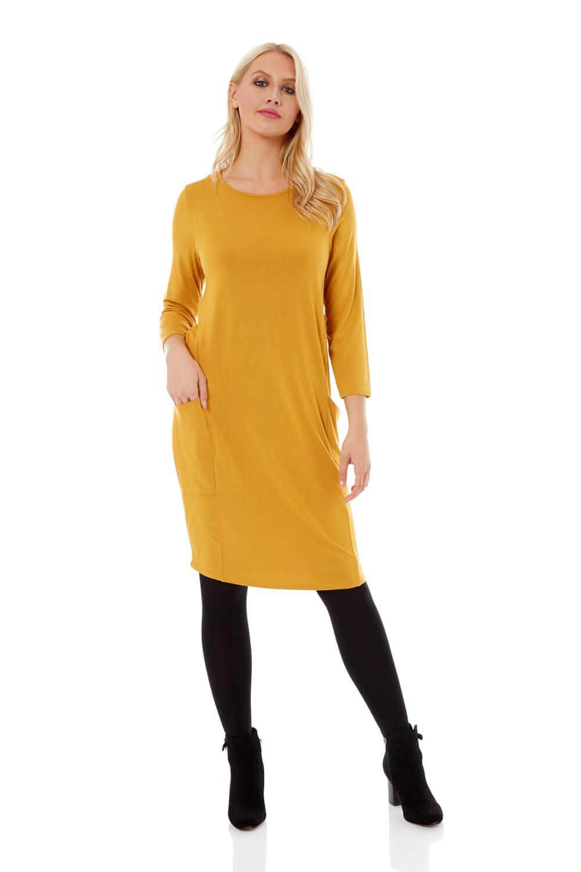 Roman-Originals-Womens-Slouch-Tunic-Dress thumbnail 30