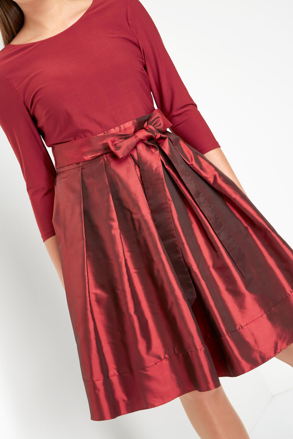 Roman-Originals-Women-039-s-Red-Fit-and-Flare-Dress-Sizes-10-20 thumbnail 11
