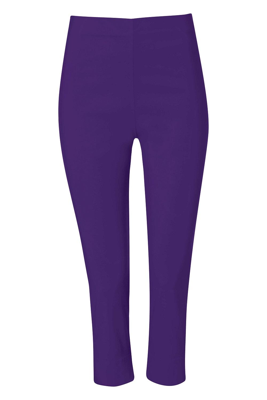 Cropped-Stretch-Capri-Bengaline-Trousers-3-4-Thick-Legging-Women-Roman-Originals 縮圖 138