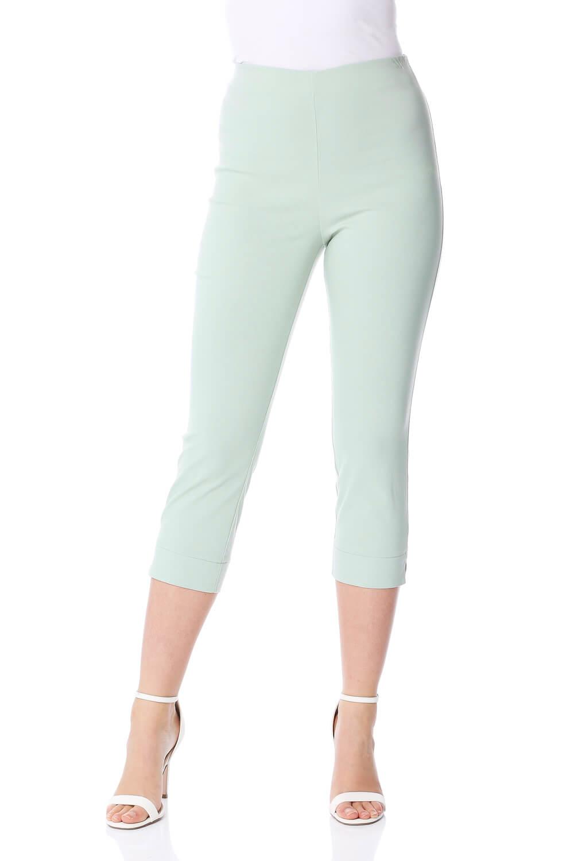 Cropped-Stretch-Capri-Bengaline-Trousers-3-4-Thick-Legging-Women-Roman-Originals 縮圖 196