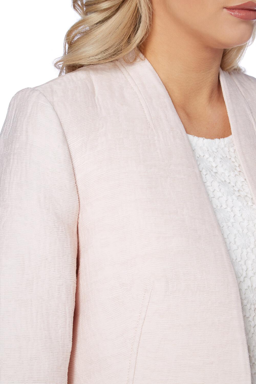 Roman-Originals-Women-039-s-White-Pleat-Tailored-Jacket-Sizes-10-20 thumbnail 25