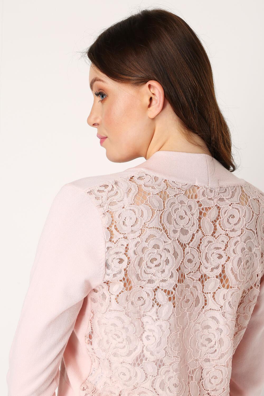 Roman-Originals-Women-Lace-Back-Detail-Shrug-Ladies-Bolero-Jacket thumbnail 39