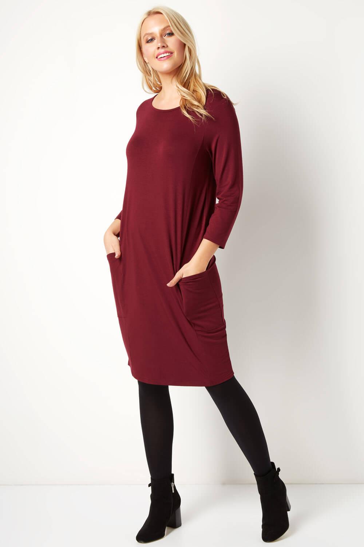 Roman-Originals-Womens-Slouch-Tunic-Dress thumbnail 27
