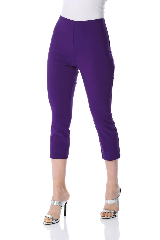 Cropped-Stretch-Capri-Bengaline-Trousers-3-4-Thick-Legging-Women-Roman-Originals 縮圖 133