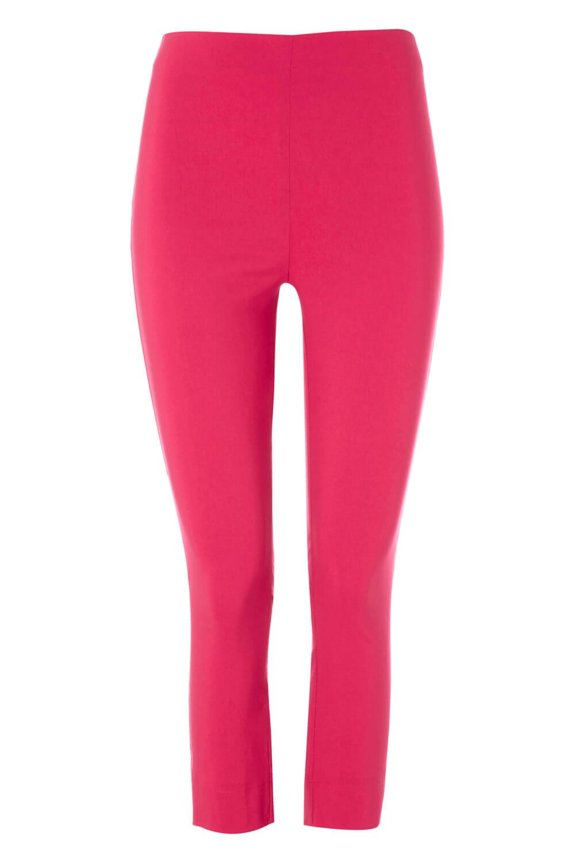 Cropped-Stretch-Capri-Bengaline-Trousers-3-4-Thick-Legging-Women-Roman-Originals 縮圖 354
