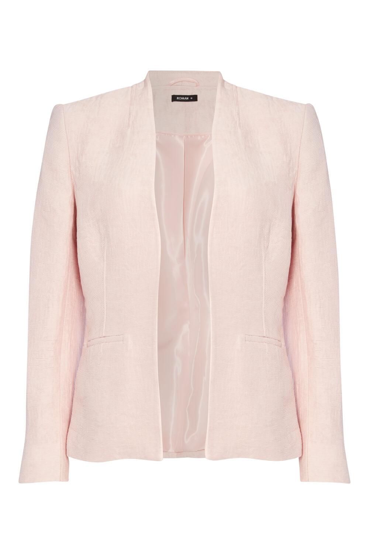 Roman-Originals-Women-039-s-White-Pleat-Tailored-Jacket-Sizes-10-20 thumbnail 26
