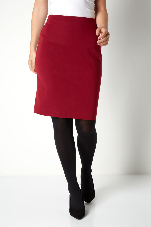 thumbnail 39 - Roman Originals Women's Textured Cotton Mix Jersey Short Skirt Formal Work Wear