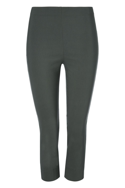 Cropped-Stretch-Capri-Bengaline-Trousers-3-4-Thick-Legging-Women-Roman-Originals 縮圖 324
