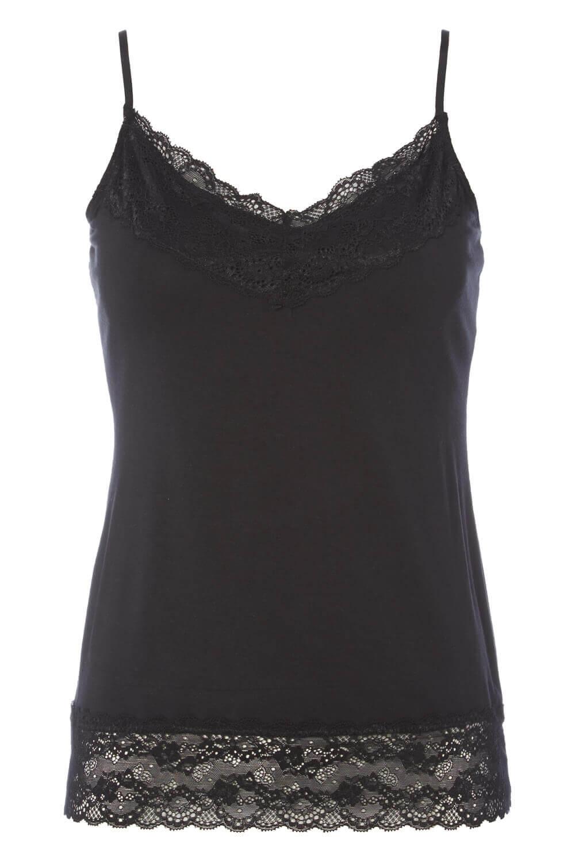 Roman-Originals-Women-Lace-Trim-Camisole-Top thumbnail 18