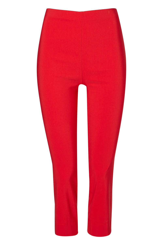 Cropped-Stretch-Capri-Bengaline-Trousers-3-4-Thick-Legging-Women-Roman-Originals 縮圖 374