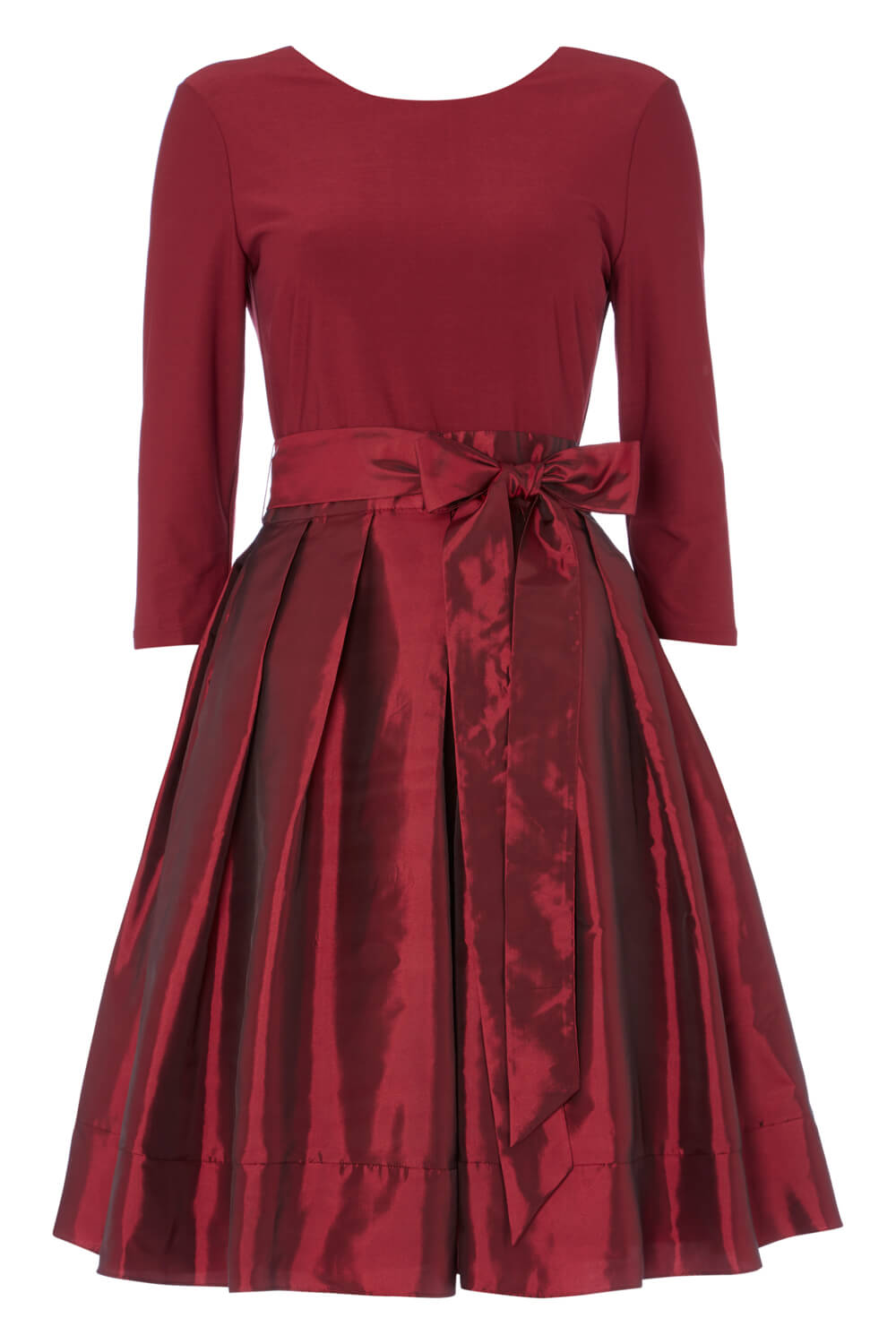 Roman-Originals-Women-039-s-Red-Fit-and-Flare-Dress-Sizes-10-20 thumbnail 12