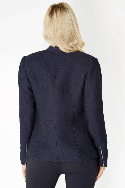 Roman-Originals-Women-039-s-White-Pleat-Tailored-Jacket-Sizes-10-20 thumbnail 29