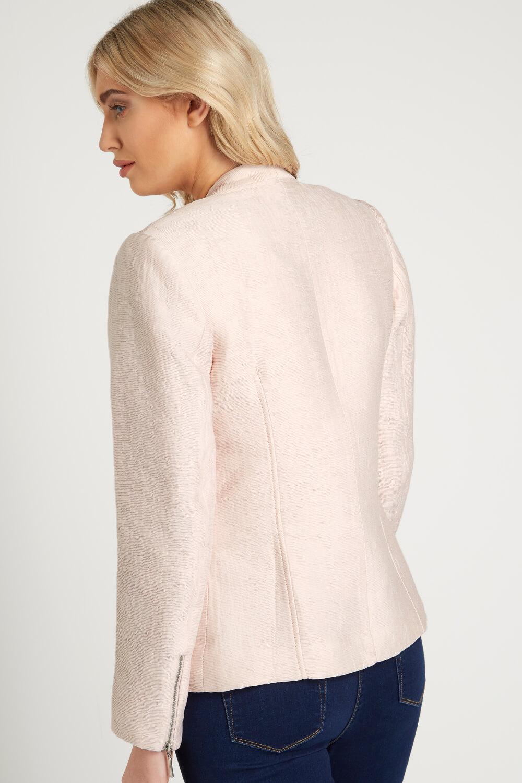 Roman-Originals-Women-039-s-White-Pleat-Tailored-Jacket-Sizes-10-20 thumbnail 22