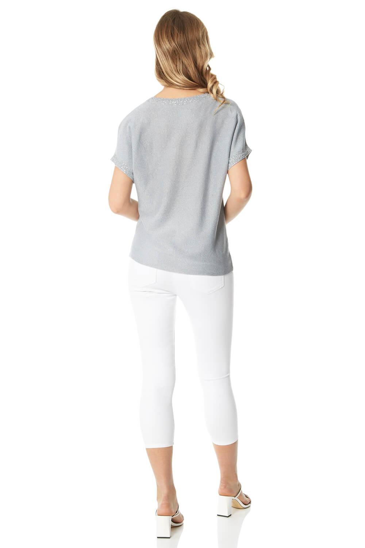 Roman-Originals-Women-039-s-Embellished-Batwing-T-shirt thumbnail 32