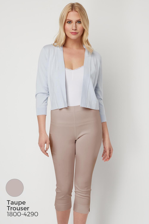 Roman-Originals-Women-Lace-Back-Detail-Shrug-Ladies-Bolero-Jacket thumbnail 21