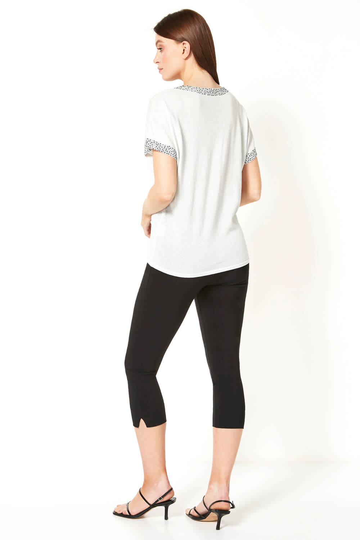 Roman-Originals-Women-039-s-Embellished-Batwing-T-shirt thumbnail 43