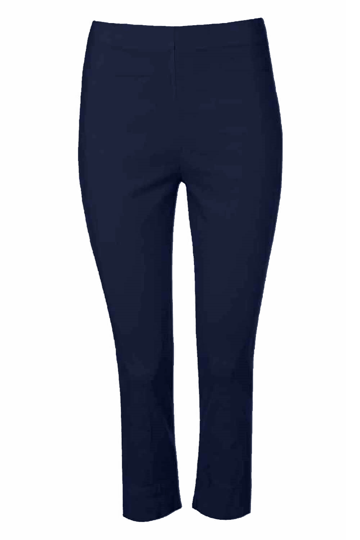 Cropped-Stretch-Capri-Bengaline-Trousers-3-4-Thick-Legging-Women-Roman-Originals 縮圖 26