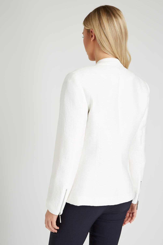 Roman-Originals-Women-039-s-White-Pleat-Tailored-Jacket-Sizes-10-20 thumbnail 15