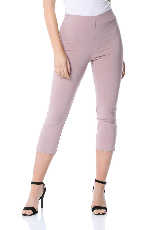 Cropped-Stretch-Capri-Bengaline-Trousers-3-4-Thick-Legging-Women-Roman-Originals 縮圖 143