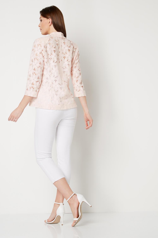 Roman-Originals-Womens-Rose-Pink-Floral-Lace-Jacket-Sizes-10-20 thumbnail 31