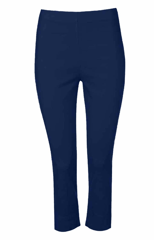 Cropped-Stretch-Capri-Bengaline-Trousers-3-4-Thick-Legging-Women-Roman-Originals 縮圖 286