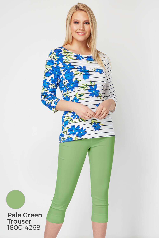 Roman-Originals-Women-039-s-Stripe-Floral-Top-Sizes-10-20 thumbnail 24
