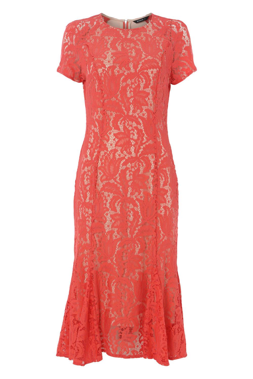 Roman-Originals-Women-039-s-Lace-Flute-Hem-Midi-Dress thumbnail 31
