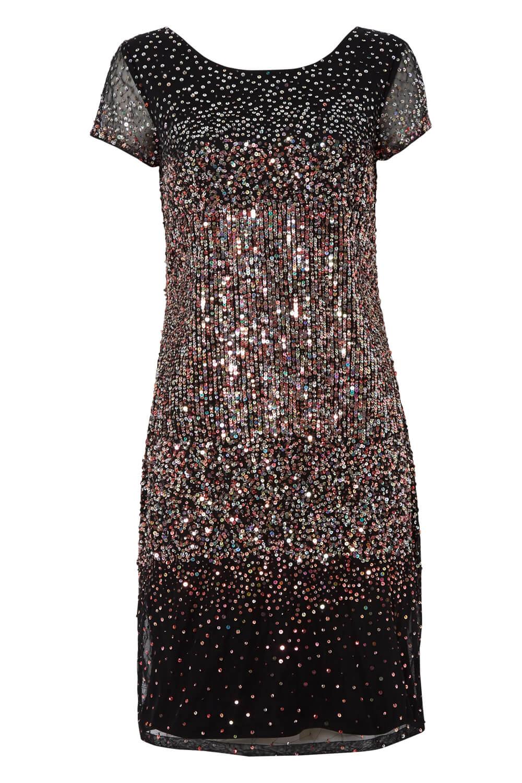 Roman-Originals-Women-Ombre-Sequin-Dress-in-size-10-20 thumbnail 24