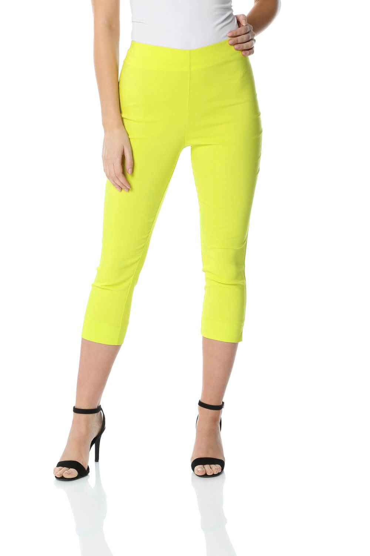 Cropped-Stretch-Capri-Bengaline-Trousers-3-4-Thick-Legging-Women-Roman-Originals 縮圖 185