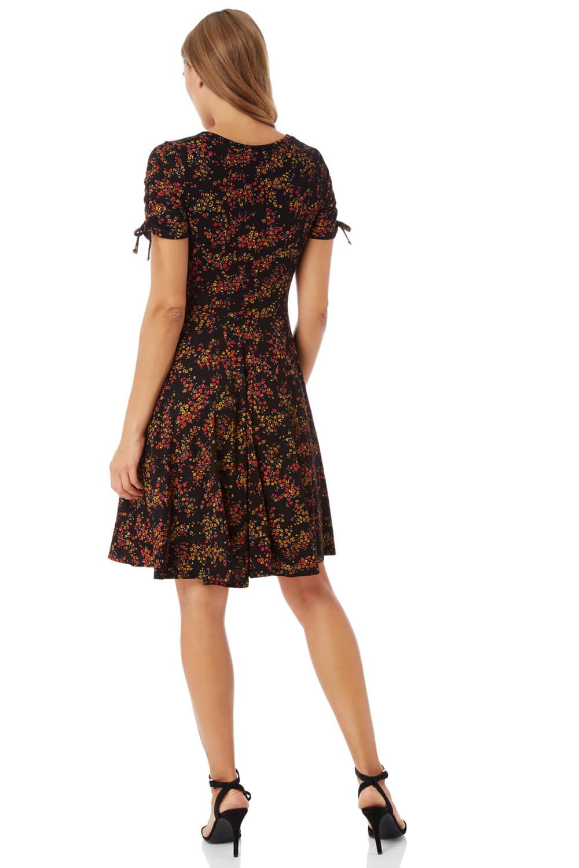 Roman-Originals-Women-039-s-Ditsy-Floral-Dress-Sizes-10-20 thumbnail 11