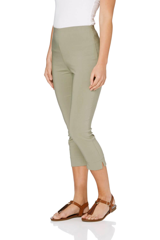 Cropped-Stretch-Capri-Bengaline-Trousers-3-4-Thick-Legging-Women-Roman-Originals 縮圖 112
