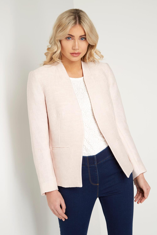 Roman-Originals-Women-039-s-White-Pleat-Tailored-Jacket-Sizes-10-20 thumbnail 21