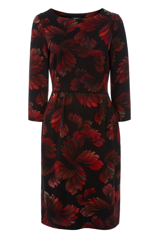 Roman-Originals-Women-Floral-Ponte-Dress thumbnail 13