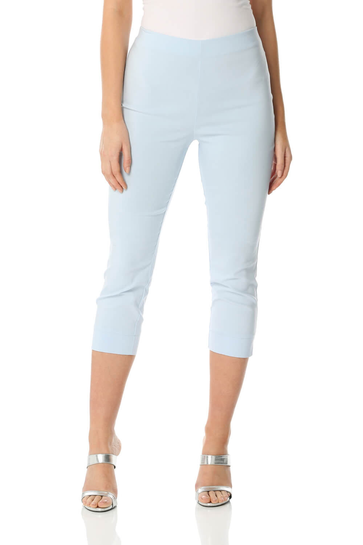 Cropped-Stretch-Capri-Bengaline-Trousers-3-4-Thick-Legging-Women-Roman-Originals 縮圖 226